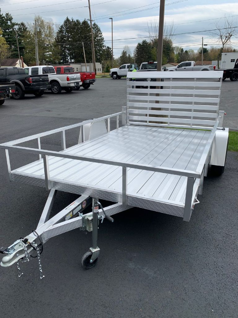 2021 SPORT HAVEN AUT612DS 6x12 Aluminum Utility Trailer for sale at Summit Motorcars