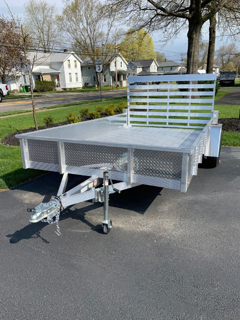 2021 SPORT HAVEN AUT714DS 7x14 Aluminum Utility Trailer for sale at Summit Motorcars