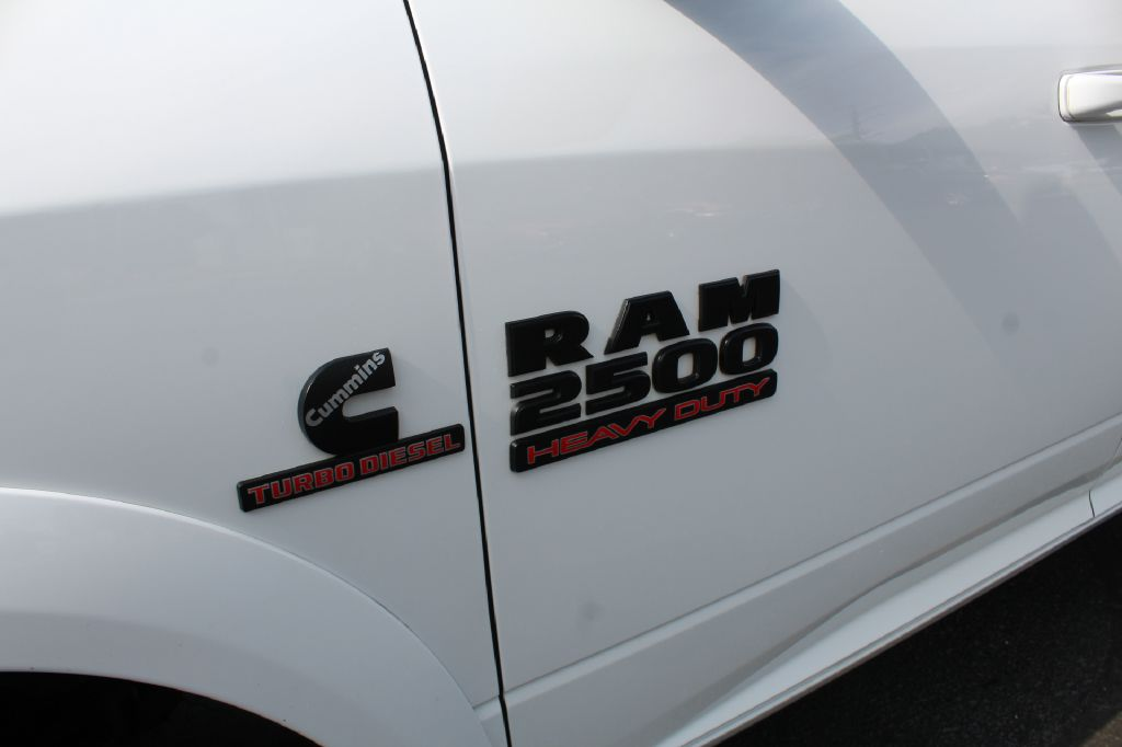2016 RAM 2500 LARAMIE 4x4 LARAMIE CUMMINS for sale at Summit Motorcars