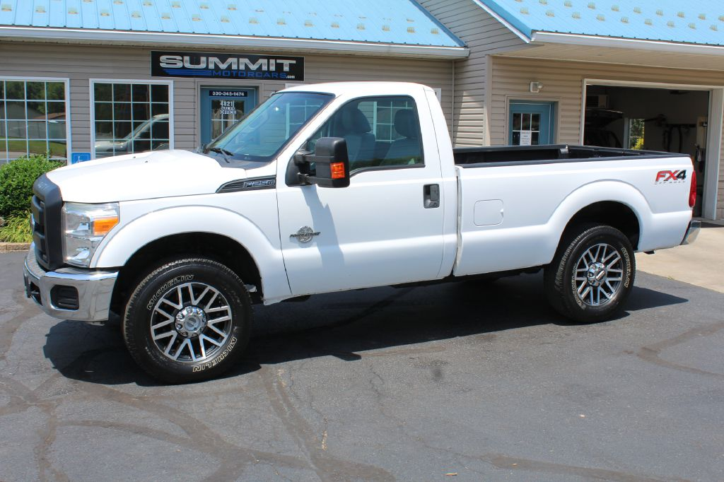 2015 FORD F250 XL 4x4 XL POWERSTROKE for sale at Summit Motorcars