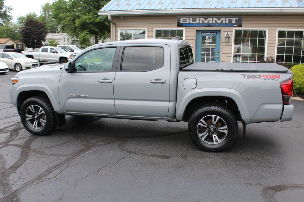 2019 TOYOTA TRD SPORT 4X4 TRD SPORT DOUBLE CAB for sale at Summit Motorcars