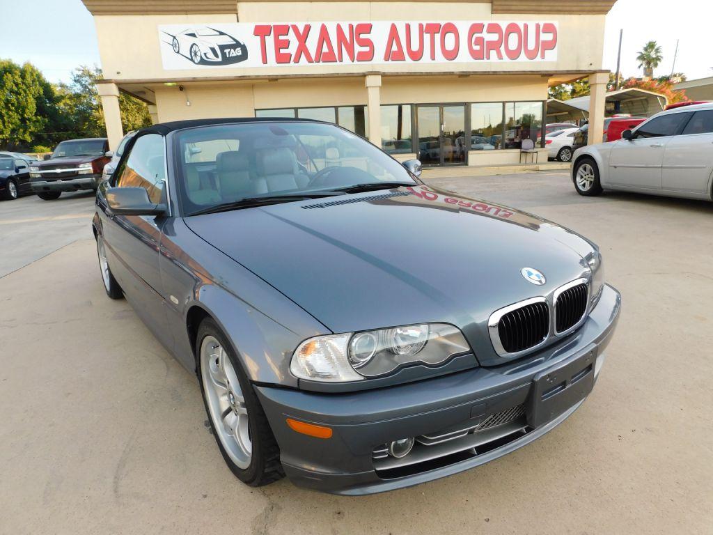 2003 BMW 330 SPORT 61K WBABS53483JU98541 TEXANS AUTO GROUP