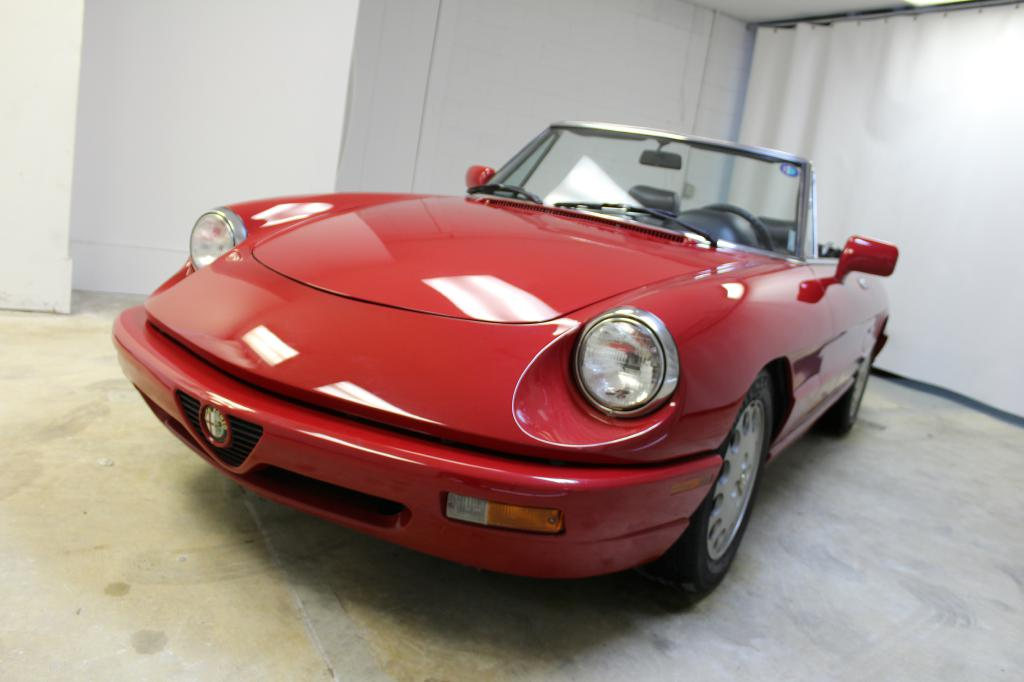 1991 Alfa Romeo Spider VELOCE: 1991 ALFA ROMEO SPIDER VELOCE 100139 Miles RED  2.0L 5-Speed Manual