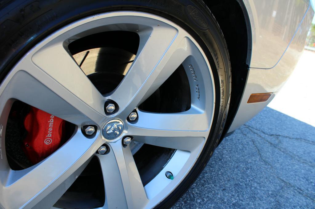 2009 Dodge Challenger SRT-8: 2009 DODGE CHALLENGER SRT-8 95204 Miles SILVER  6.1L Automatic