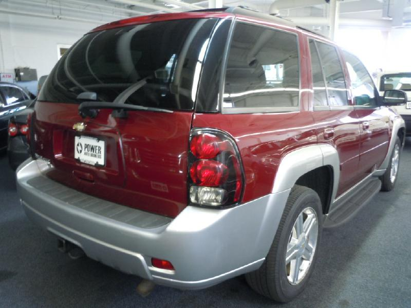 2008 CHEVROLET TRAILBLAZER LT 4WD for sale in Cleveland, OH