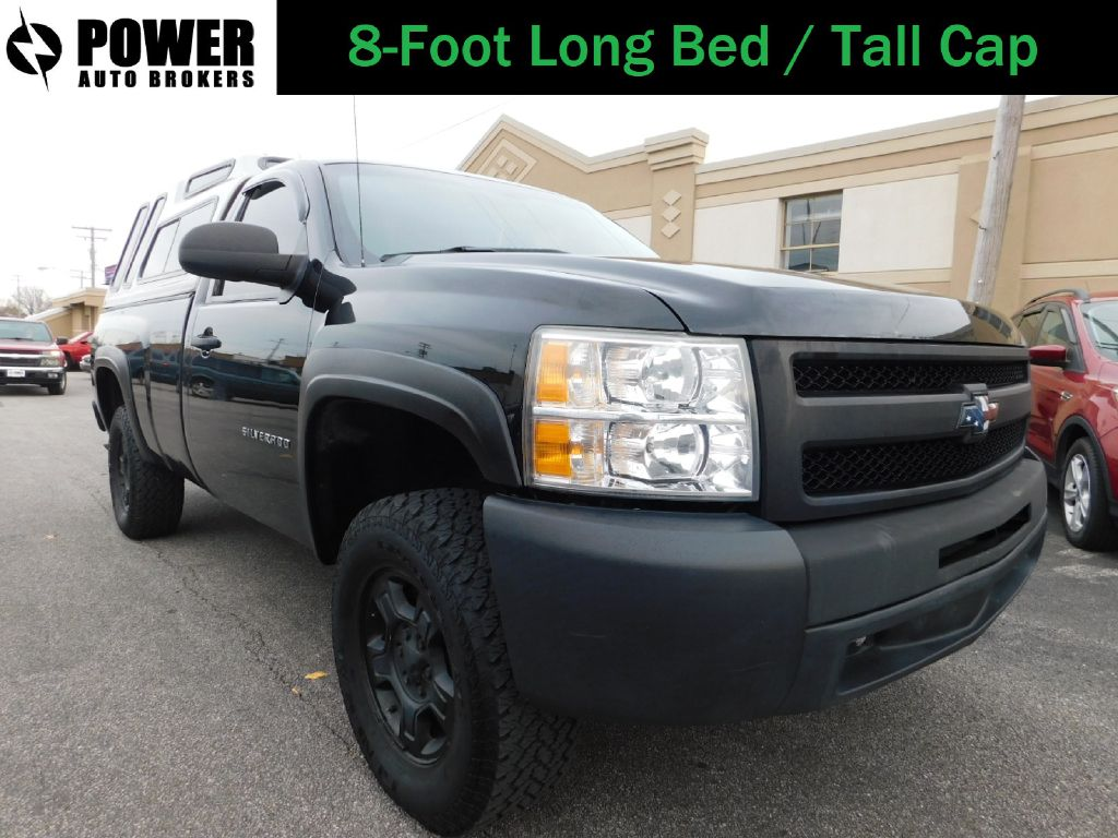 2011 CHEVROLET SILVERADO 1500 LONG BED W/T