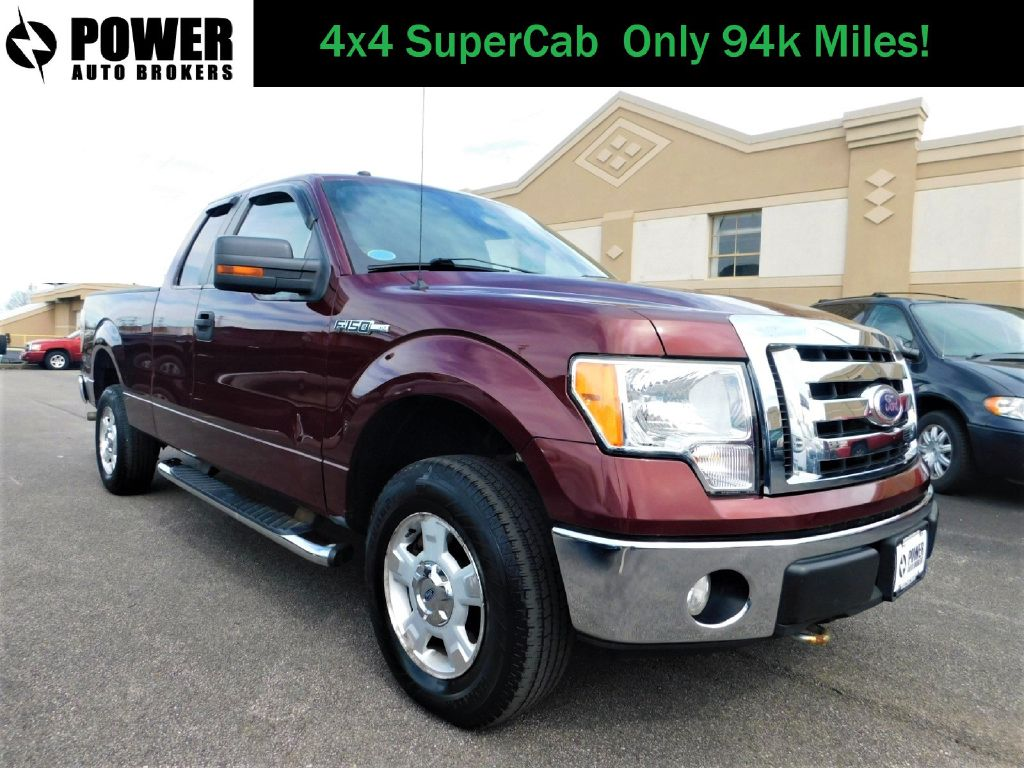 2010 FORD F150 XLT SUPERCAB 4x4