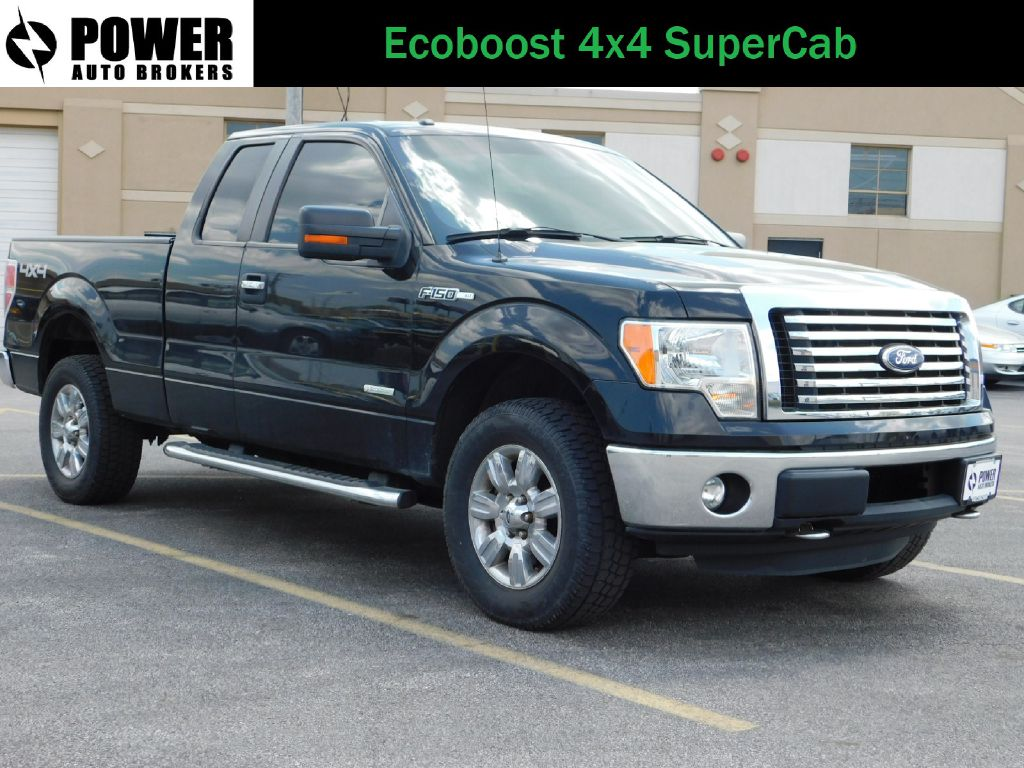 2011 FORD F150 XLT 4x4 SUPER CAB