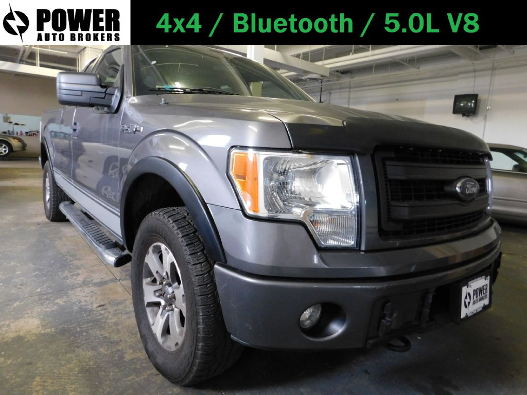 2013 FORD F150 STX 4x4 SUPERCAB