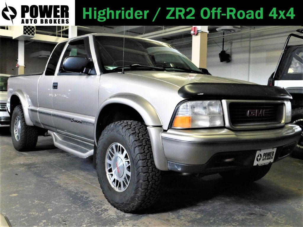 1999 GMC SONOMA HIGHRIDER OFF-ROAD EXT CAB
