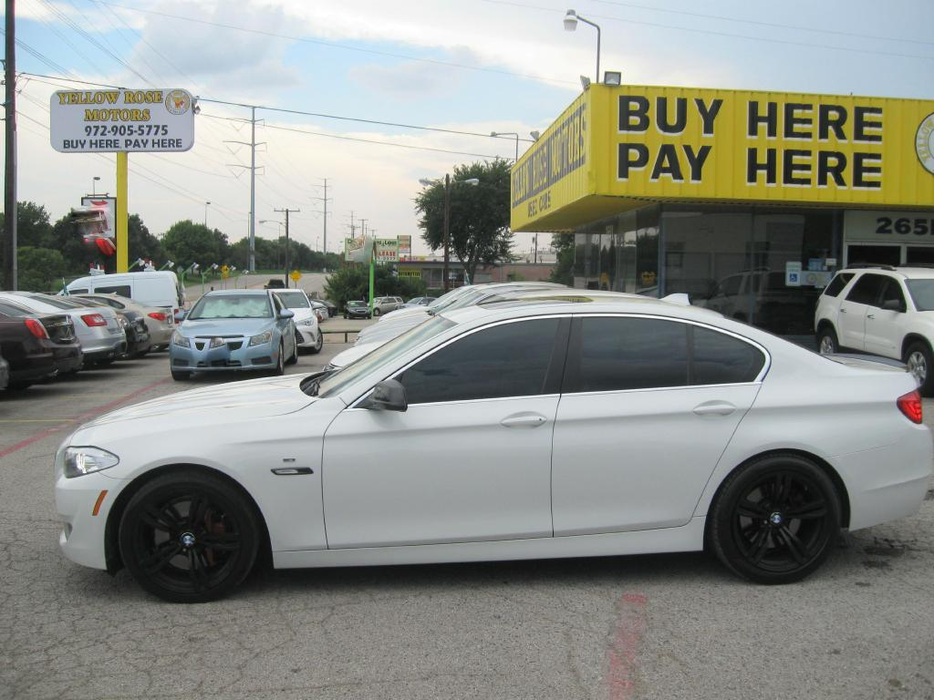 2011 BMW 535 WBAFR7C51BC267016 YELLOW ROSE MOTORS INC.