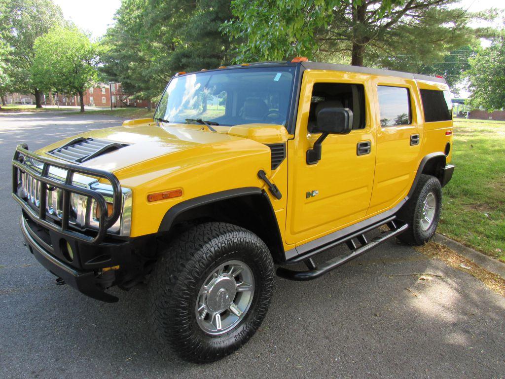 2003 Hummer H2  for sale VIN: 5GRGN23UX3H109807