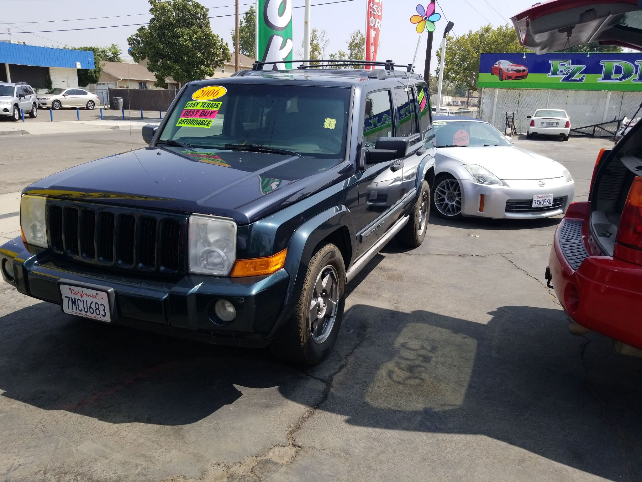 2006 JEEP COMMANDER 1J8HH48N66C126270 EZ DEALS AUTO SALES
