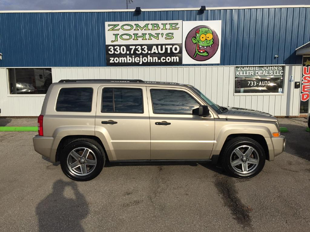 2009 jeep patriot sport for sale in akron zombie johns used suvs for sale. Black Bedroom Furniture Sets. Home Design Ideas