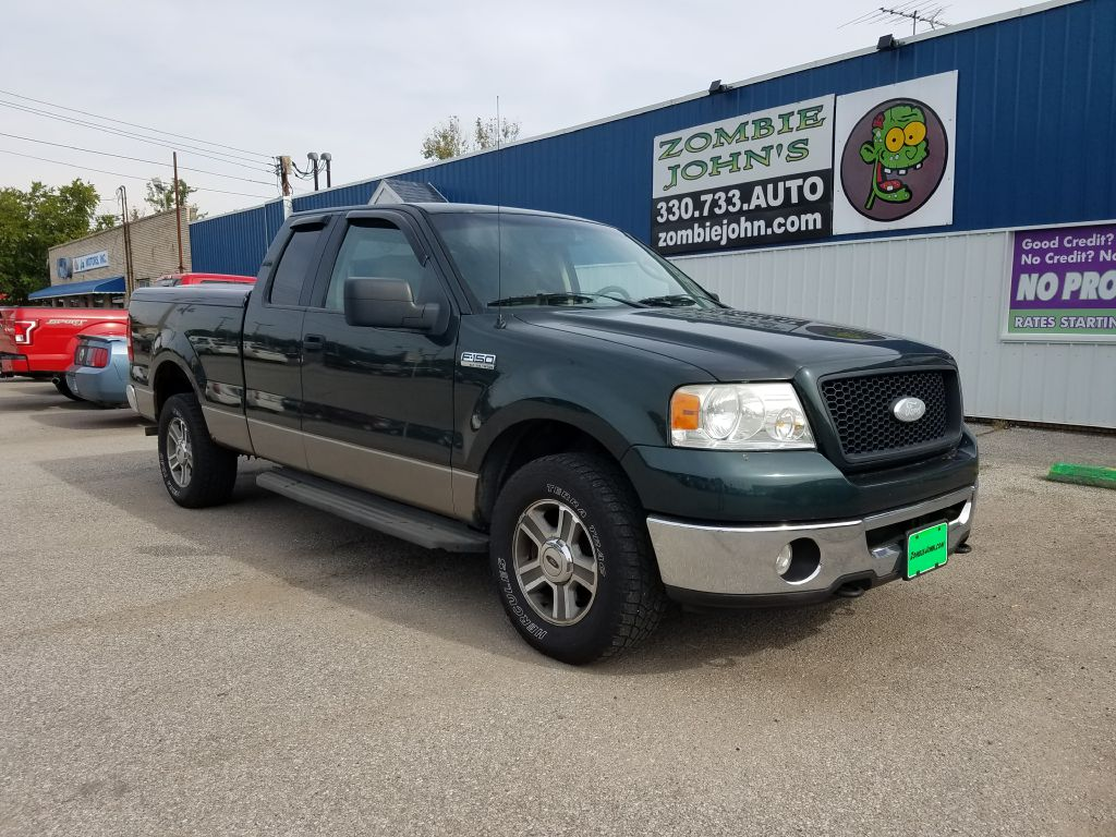 2006 Ford F150 Xlt For Sale In Akron Zombie Johns Used Trucks F 150 Wheels At