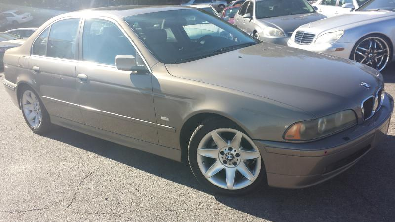 2002 BMW 525 I AUTOMATIC Air Conditioning Power Windows Power Locks Power Steering Tilt Wheel