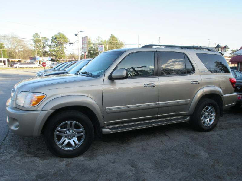 2005 TOYOTA SEQUOIA LIMITED Air Conditioning Power Windows Power Locks Power Steering Tilt Whe