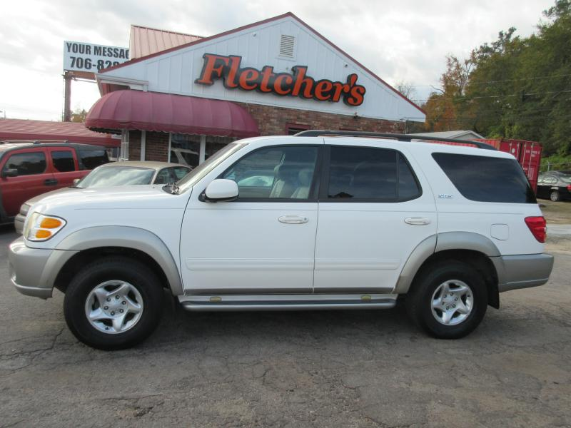 2002 TOYOTA SEQUOIA SR5 Air Conditioning Power Windows Power Locks Power Steering Tilt Wheel