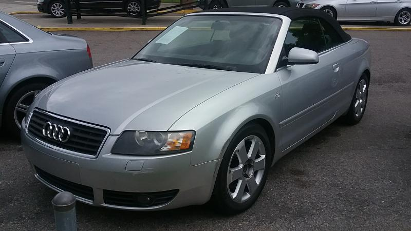 2003 AUDI A4 30 CABRIOLET Air Conditioning Power Windows Power Locks Power Steering Tilt Whee