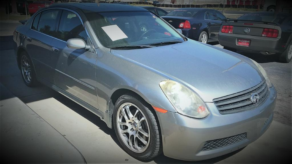 2005 INFINITI G35 Air Conditioning Power Windows Power Locks Power Steering Tilt Wheel AMFM C