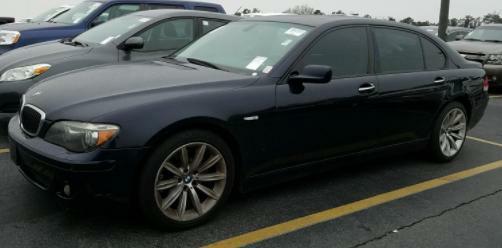 2008 BMW 750 LI Air Conditioning Power Windows Power Locks Power Steering Tilt Wheel AMFM CD
