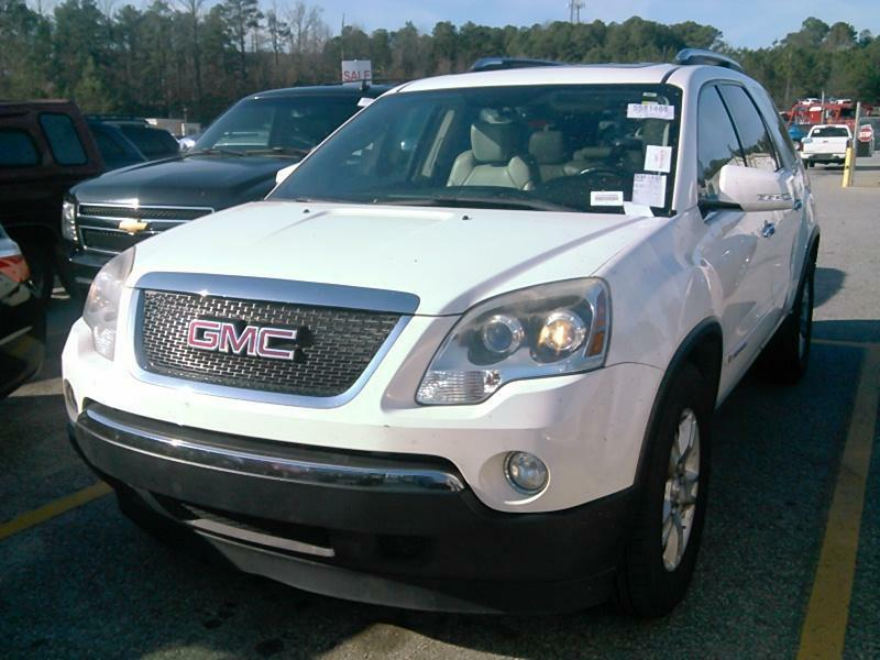 2007 GMC ACADIA SLT-2 Air Conditioning Power Windows Power Locks Power Steering Tilt Wheel AM