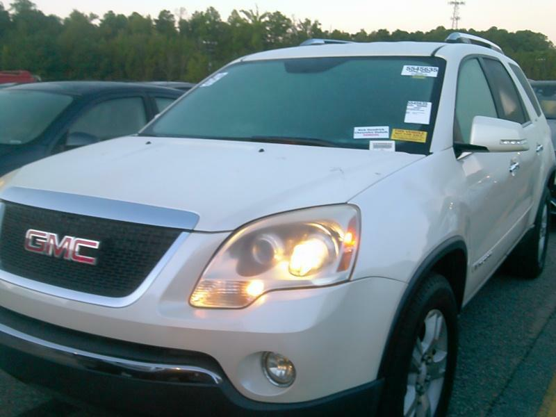 2008 GMC ACADIA SLT-1 Air Conditioning Power Windows Power Locks Power Steering Tilt Wheel AM