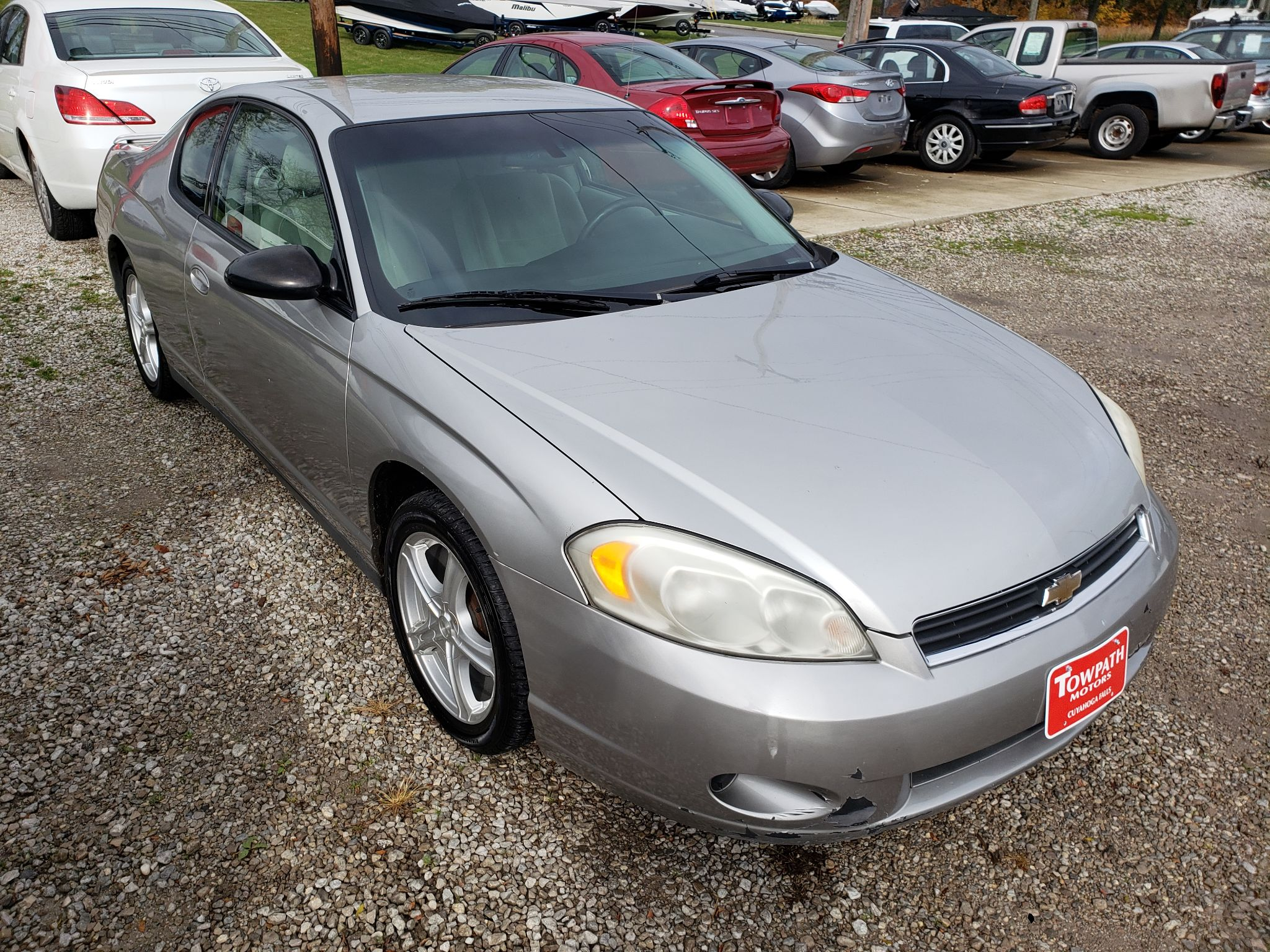 2007 Chevrolet Monte Carlo for sale at Towpath Motors   Used Car Dealer in Peninsula Ohio