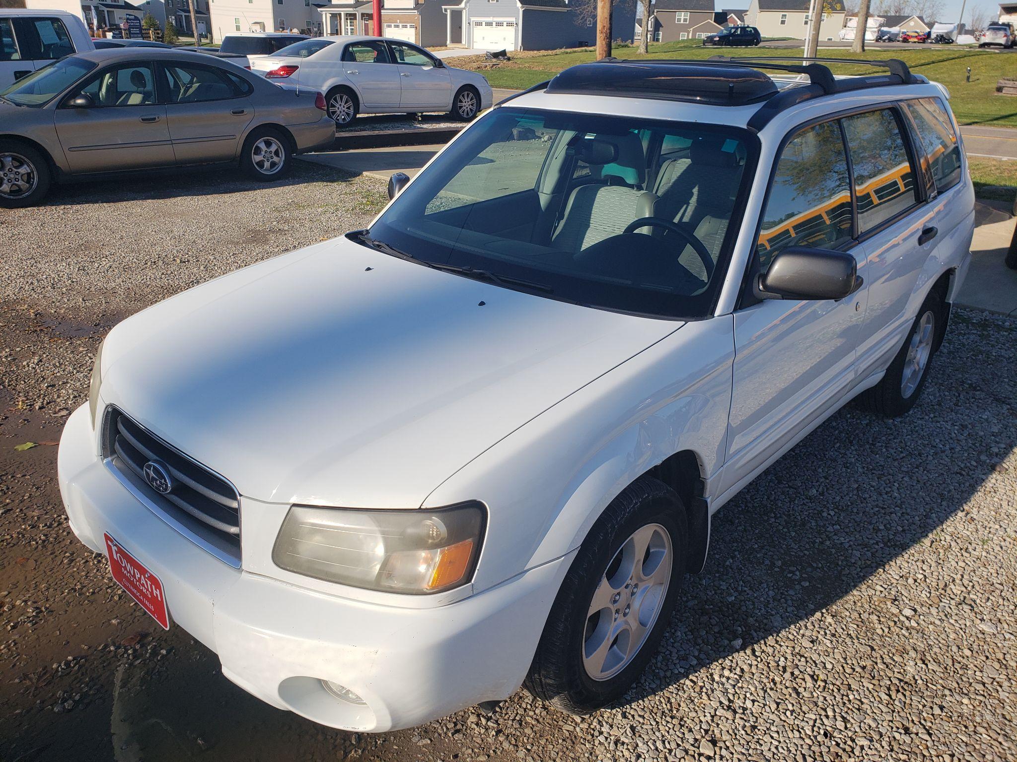 2003 Subaru Forester for sale at Towpath Motors | Used Car Dealer in Peninsula Ohio
