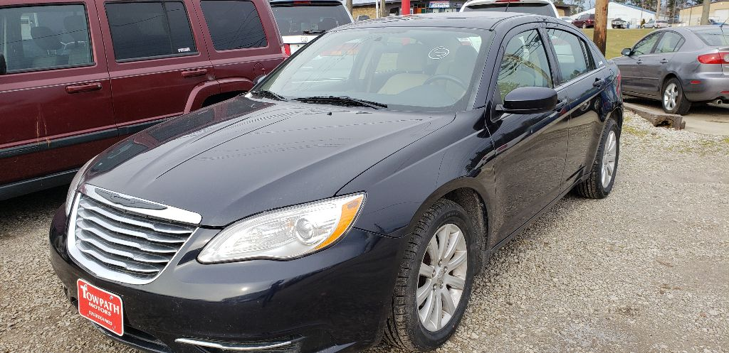 2012 Chrysler 200 for sale at Towpath Motors | Used Car Dealer in Peninsula Ohio