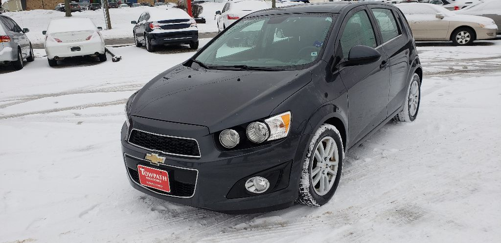 2012 Chevrolet Sonic for sale at Towpath Motors | Used Car Dealer in Peninsula Ohio