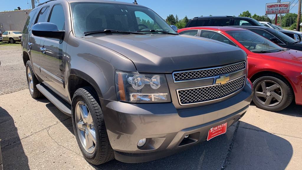 2011 Chevrolet Tahoe for sale at Towpath Motors | Used Car Dealer in Peninsula Ohio