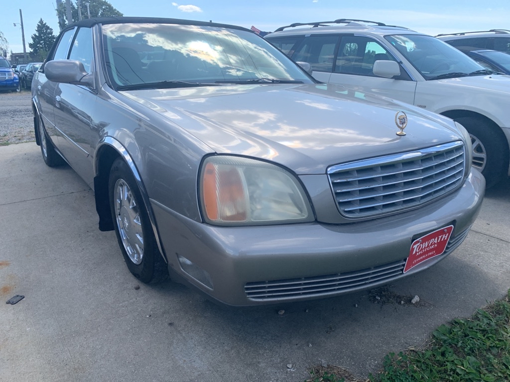 2001 Cadillac Deville for sale at Towpath Motors   Used Car Dealer in Peninsula Ohio