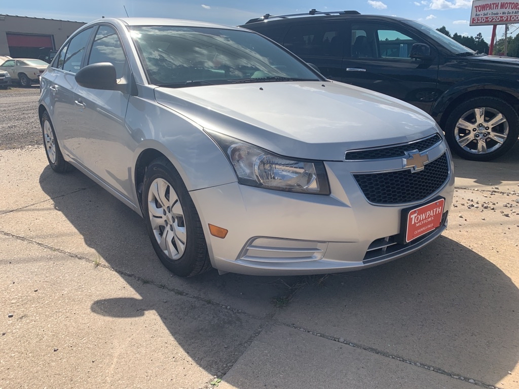 2012 Chevrolet Cruze for sale at Towpath Motors | Used Car Dealer in Peninsula Ohio