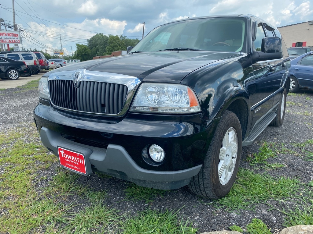2003 Lincoln Aviator for sale at Towpath Motors | Used Car Dealer in Peninsula Ohio