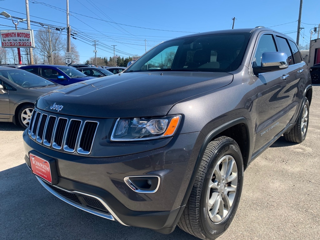 2016 Jeep Grand Cherokee for sale at Towpath Motors   Used Car Dealer in Peninsula Ohio