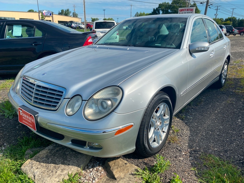 2006 Mercedes-benz E for sale at Towpath Motors | Used Car Dealer in Peninsula Ohio