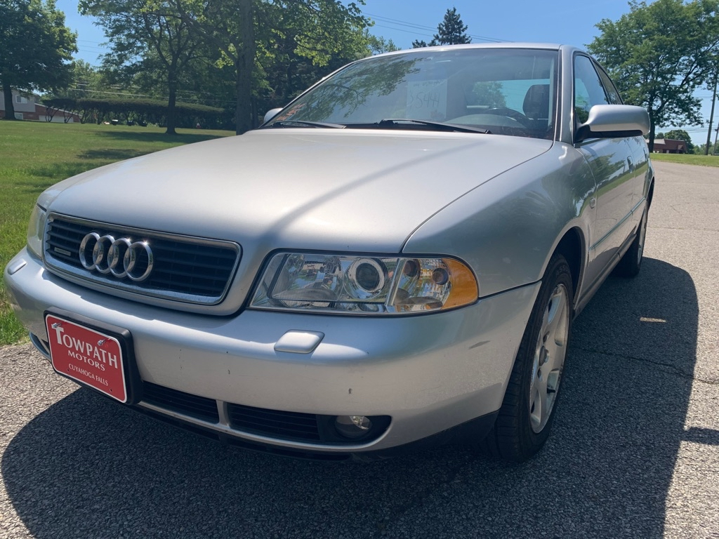 2000 Audi A4 for sale at Towpath Motors | Used Car Dealer in Peninsula Ohio