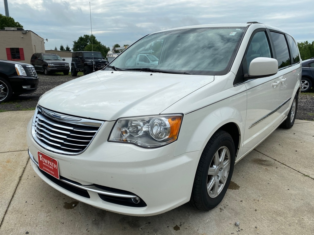 2011 Chrysler Town & Country for sale at Towpath Motors | Used Car Dealer in Peninsula Ohio