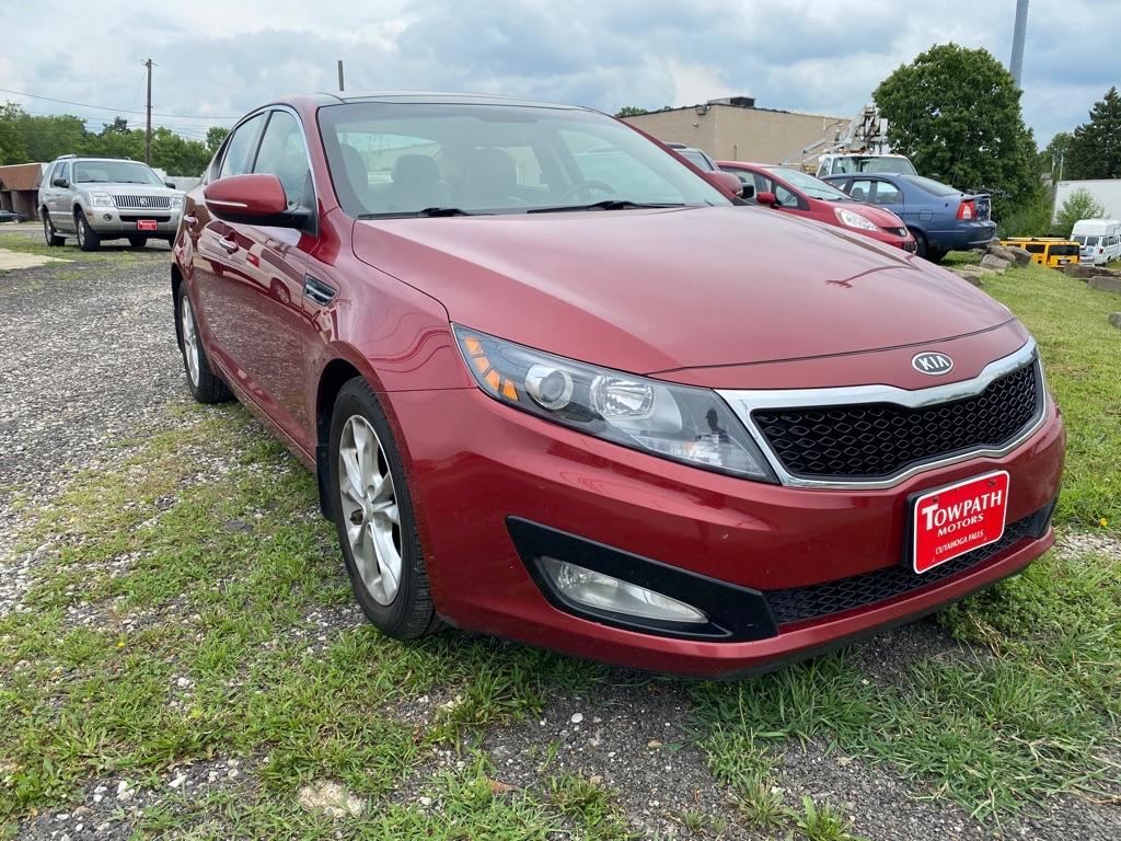 2012 Kia Optima for sale at Towpath Motors | Used Car Dealer in Peninsula Ohio