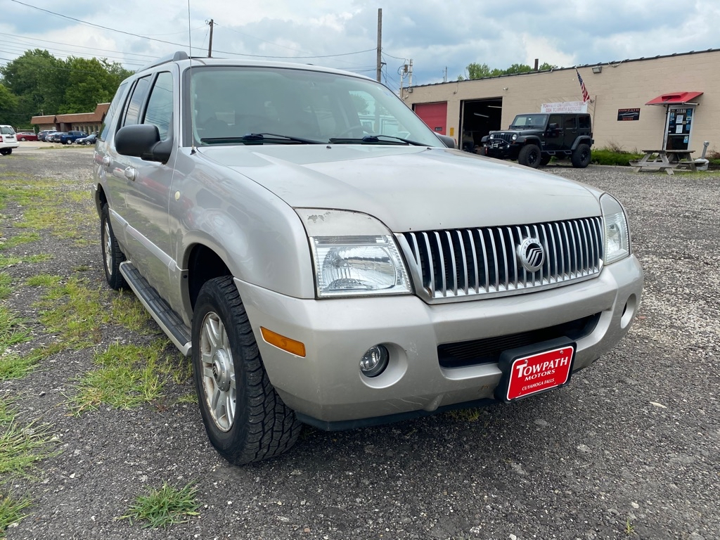 2005 Mercury Mountaineer for sale at Towpath Motors | Used Car Dealer in Peninsula Ohio