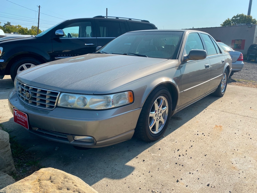 2002 Cadillac Seville for sale at Towpath Motors | Used Car Dealer in Peninsula Ohio