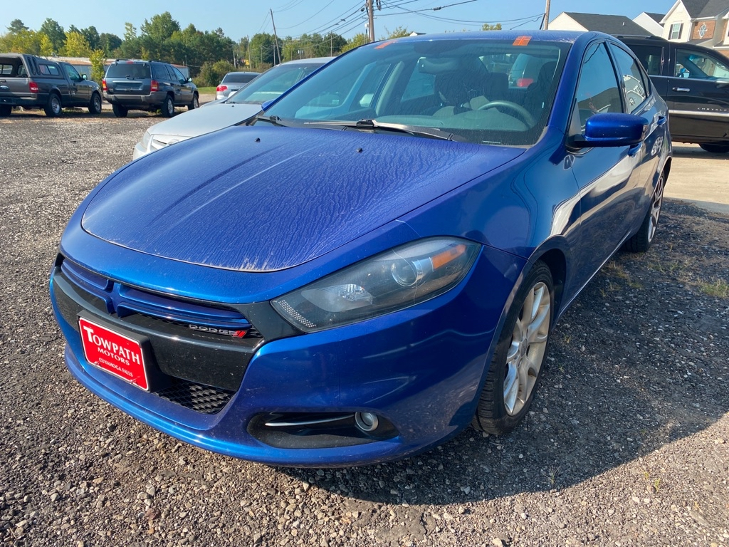 2013 Dodge Dart for sale at Towpath Motors | Used Car Dealer in Peninsula Ohio