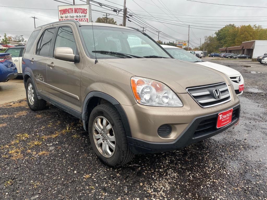 2006 Honda Cr-v for sale at Towpath Motors | Used Car Dealer in Peninsula Ohio
