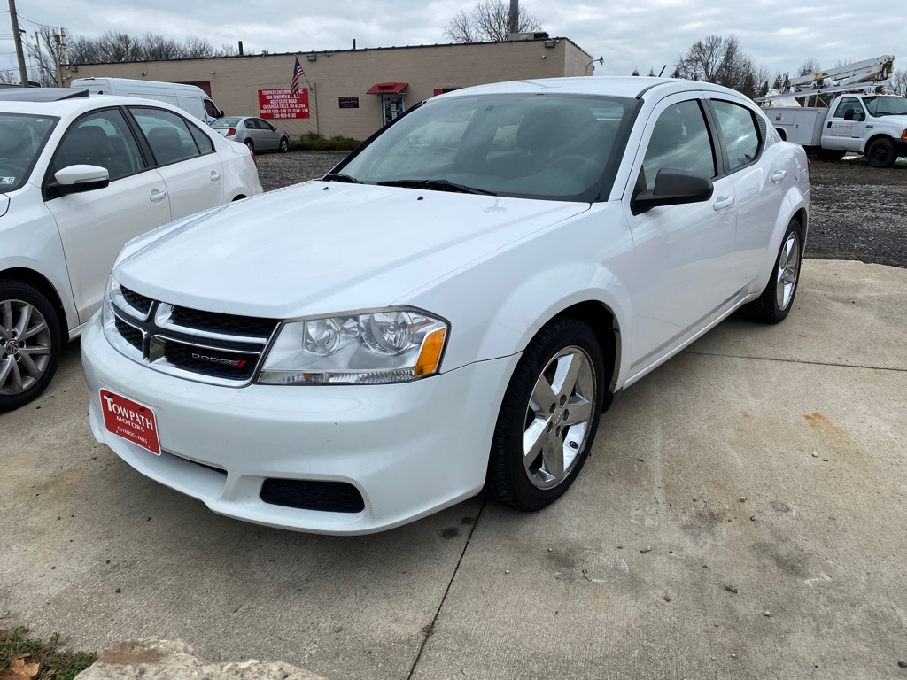 2013 Dodge Avenger for sale at Towpath Motors | Used Car Dealer in Peninsula Ohio