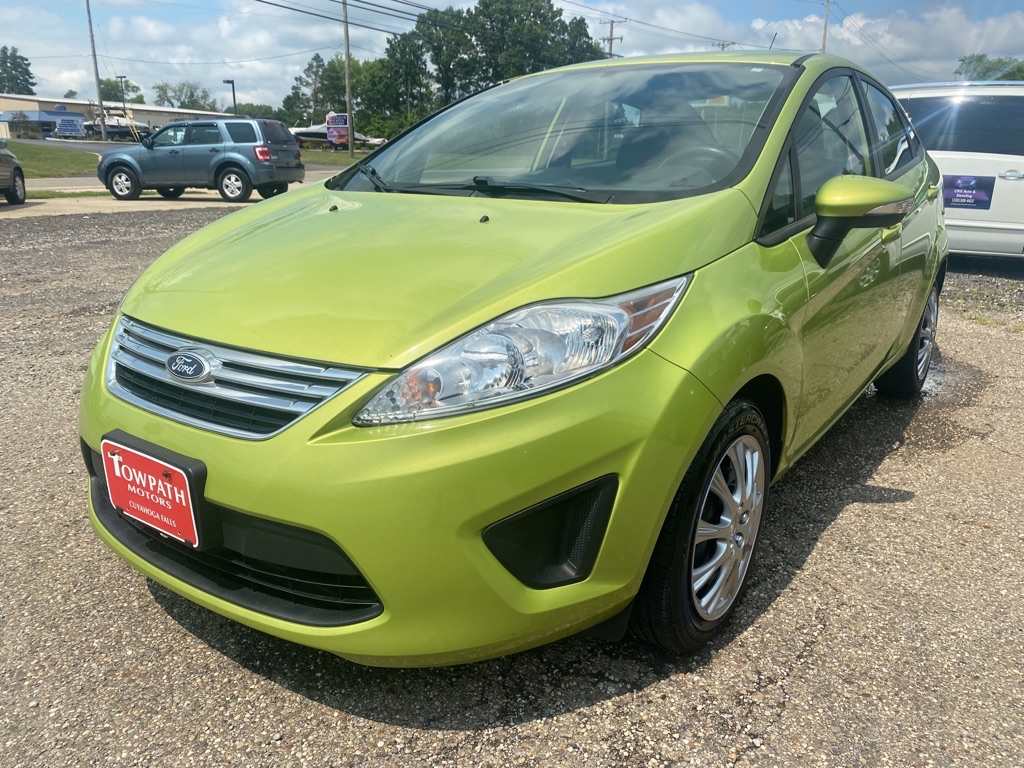 2013 Ford Fiesta for sale at Towpath Motors | Used Car Dealer in Peninsula Ohio