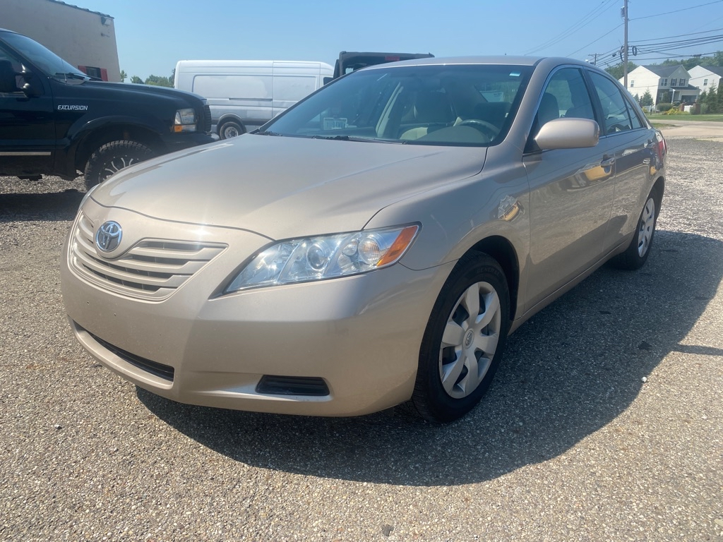 2007 Toyota Camry for sale at Towpath Motors   Used Car Dealer in Peninsula Ohio
