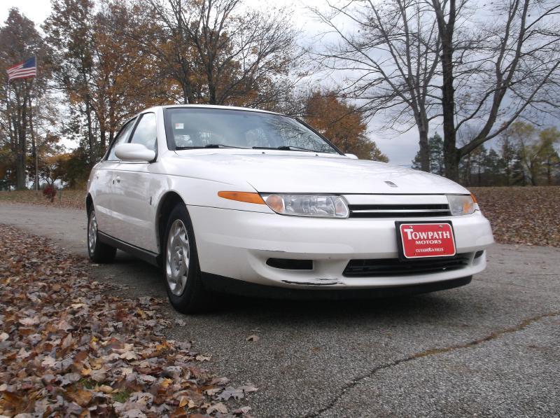 2001 Saturn L200 for sale at Towpath Motors | Used Car Dealer in Peninsula Ohio