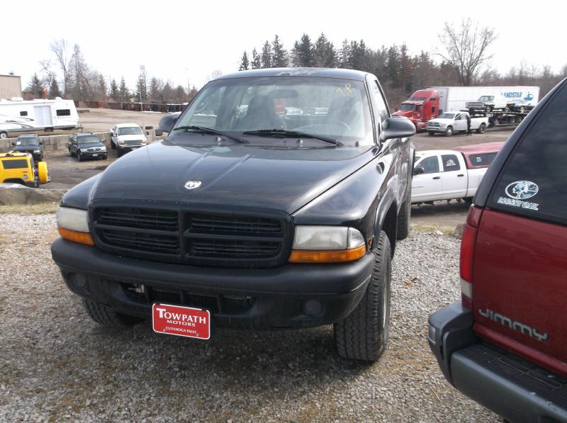 2001 Dodge Dakota for sale at Towpath Motors | Used Car Dealer in Peninsula Ohio