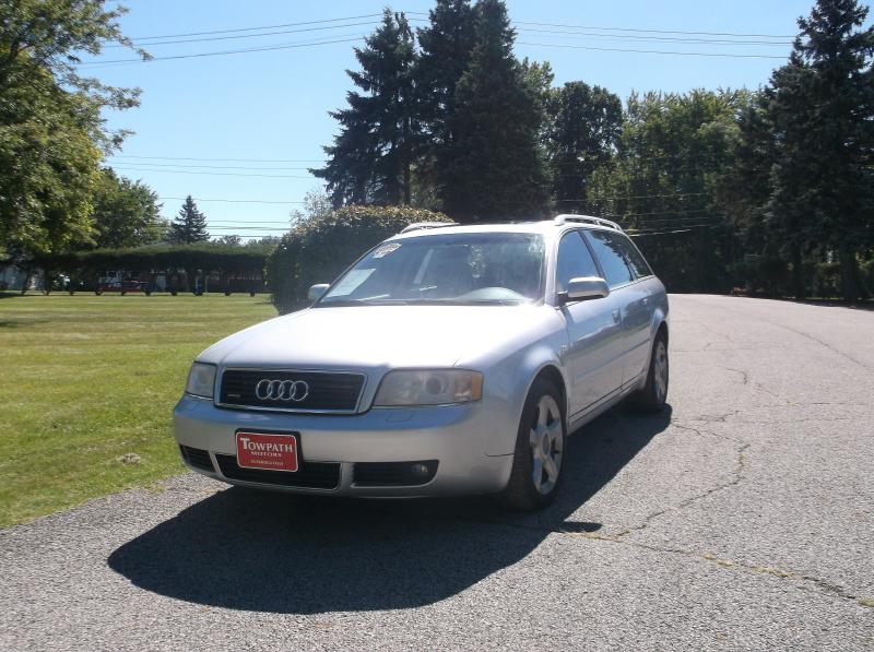 2004 Audi A6 for sale at Towpath Motors | Used Car Dealer in Peninsula Ohio